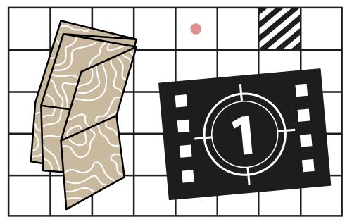 Grafika, element identyfikacji wizualnej cyklu.