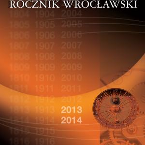 front_Rocznik Wroclawski_13-14