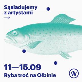 Ryba troć na Ołbinie_grafika kwadrat