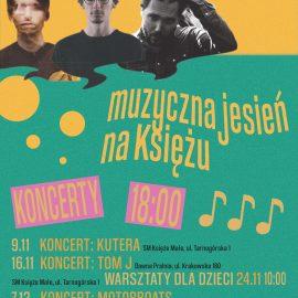 Muzyczna Jesień na Księżu_koncerty_plakat