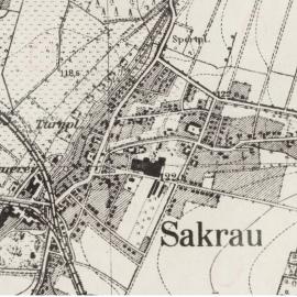 Mapa Zakrzów 1942