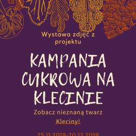 Mikrogranty_Kampania Cukrowa na Klecinie_plakat