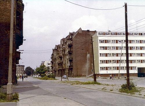 Zdjęcie, ul. Gajowa, lata 70. XX w